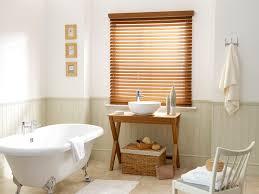 warm oak faux wood blind 50mm slat window faux wood blinds