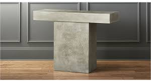 Grey Console Table Fuze Grey Console Table In Console Tables Reviews Cb2