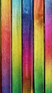rainbow color wood planks background android wallpaper free download