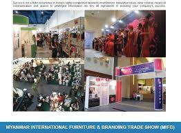 Outdoor Furniture Trade Shows by Myanmar International Furniture U0026 Branding Trade Show Mifb