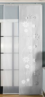 flã chenvorhang design 2er pack schiebegardine flã chenvorhang albi lasercut wildseide