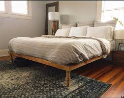 Bohemian Bed Frame Beds Headboards Etsy