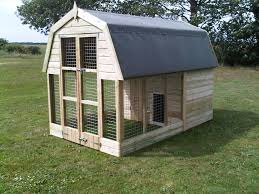Luxury Dog House Plans With Well Made Dutch Barn Dog Kennels For