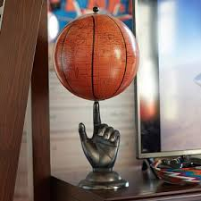 Basketball Room Decor Hand Spinning Basketball Globe Pbteen Jacob U0027s Room Pinterest