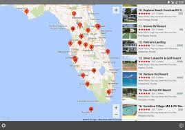 Hobe Sound Florida Map by Rv Parks U0026 Campgrounds Android Apps On Google Play