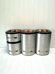 215 best vintage kitchen canisters images on pinterest vintage
