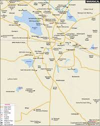 Hyderabad India Map by City Map