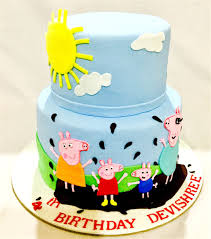 peppa pig cake ideas miras online peppa pig theme birthday cakes for kids i order online