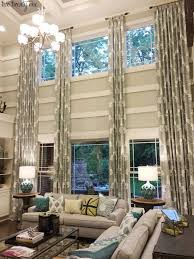 Curtains For Large Windows Inspiration Astonishing How To Dress Custom Drapes For Windows