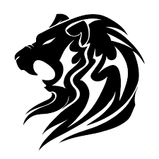 image for black lion tribal tattoo designs ideas and gifts for