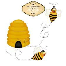 bumble bee hive clip art 39