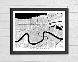 Louisiana travel gifts images 55 best customized map art prints city streets map art map jpg