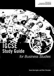 igcse study guide for business studies by jijun du issuu