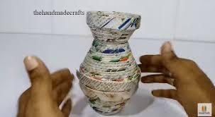 Best Out Of Waste Flower Vase Thehandmadecrafts Com Wp Content Uploads 2017 11 7