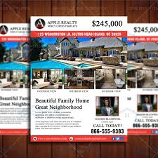 featured listing property design template u2013 real estate lead generator