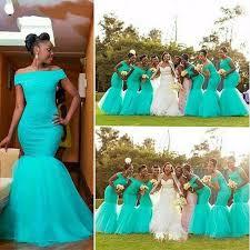 robe africaine mariage 2017 sirène de demoiselle d honneur robe africaine épaule