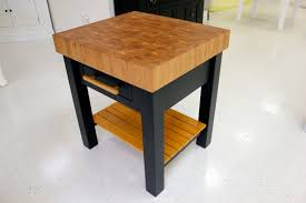 eport wood products butcher block tables