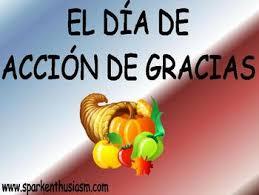thanksgiving power point dia de accion de gracias in tpt