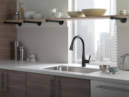 matte black kitchen faucet 9113bldst in matte black by delta faucet company in new york city