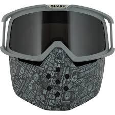 ghost rider mask ebay shark raw soyouz mat motorcycle helmet plus goggle u0026 mask kit open