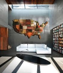 Usa States Map by United States Of America Map From Reclaimed Barn Wood Recycled
