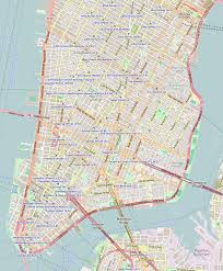 Map Of Little Italy Nyc by Singer Building Wikipedia