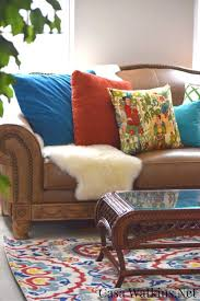 Global Decor Styles Global Inspired Eclectic Living Room Makeover Week 4 One Room