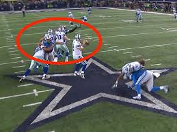 nfl refs missed another lions cowboys penalty call business insider