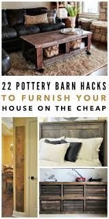 Pottery Barn Ladder Shelf 22 Pottery Barn Hacks To Furnish Your Home On The Cheap