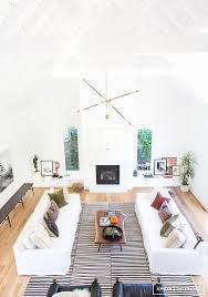 La Home Decor 2 Sofas In Living Room Contemporary La Home By Interior Designer