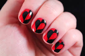 heart design on nails gallery nail art designs