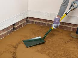 What Is The Best Flooring For Basements by How To Install A Concrete Floor How Tos Diy