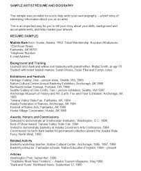 Artist Resume Examples by 45 Biography Templates U0026 Examples Personal Professional