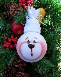 light bulbs into creative ornaments