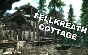fellkreath cottage build your own home skyrim player home mod