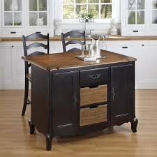 cool black kitchen island stools with stainless steel top jpg