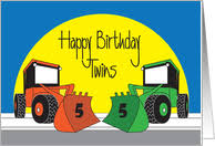 age specific birthday cards for twins from greeting card universe