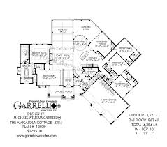 Amicalola Cottage 4384 House Plan House Plans By Garrell Amicalola Cottage House Plans