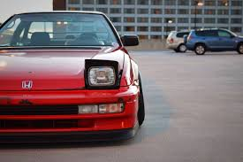 stanced honda that oldschool prelude