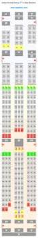United 787 Seat Map 161 Best Airline Seating Charts U0026 Cabin Layouts Images On
