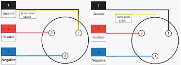 microphone wiring diagram u0026 schematic