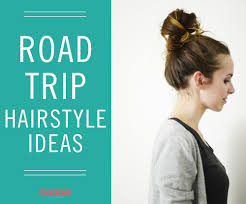 Easy On The Go Hairstyles by Travel Tips From A Low Ponytail To A Side Braid Here Are Some