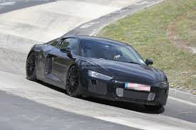 Audi R8 Matte Black - 2016 audi r8 v10 spied again this time with less camo video