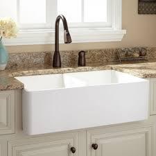 Apron Sink Bathroom Vanity by Farmhouse Sinks Apron Front Sinks Signature Hardware