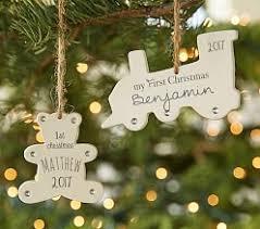christmas ornaments u0026 garland pottery barn kids