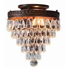Bronze Ceiling Light Foyer Worthy Flush Mount Ceiling Lights Shine Your Light