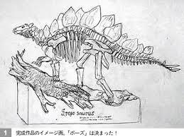 brantworks making a model dinosaur skeleton