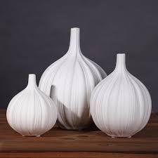 elephant vase ceramic contemporary garlic ceramic vase set tabletop flower vase home