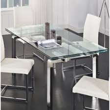 All Glass Dining Room Table Glass Kitchen Dining Tables You Ll Wayfair