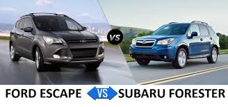 Ford Explorer Towing Capacity - ford escape vs subaru forester